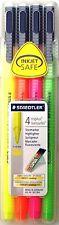 STAEDTLER TRIPLUS TEXTSURFER Penne Evidenziatore-scatola di 4 colori