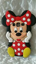 Silicone Cover per cellulari S MINNIE RED para SAMSUNG GALAXY CORE PRIME G360