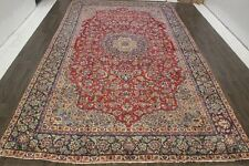 Persian Traditional Vintage Wool  9.4 X 15.9 Oriental Rug Handmade Carpet Rugs