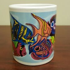 Panama City Beach Florida Coffee Mug School of Fish ERCO