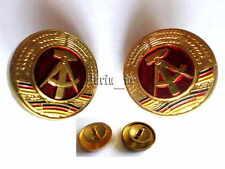 2 DDR Abzeichen Kokarde für Uniform- Mütze für NVA General Stasi , Admiral ALT