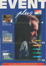 EVENT 12 (MAI 2002) MICHEL SARDOU TINTIN AMERICAN JAZZ EVENING  (56)