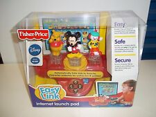 NEW FISHER PRICE EASY LINK COMPUTER LAUNCH PAD DISNEY MICKEY MOUSE WINNIE POOH