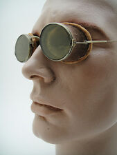 Vintage Spectacles INDUSTRIAL SAFETY GOGGLES Retro Steampunk Hot Rod Rat Old