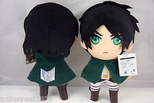 "New Arrival Attack On Titan Anime 12"" Eren Jaeger Plush Doll Toy"