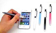 Bolígrafo Con Piedras De Swarovski Mini Valido Para Tablets Varios colores