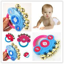 Baby Spielzeug Hände Schütteln Glocken Rattle Handbell Musikalische Bildungs Neu