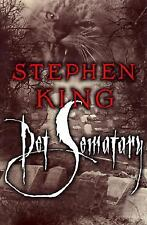 Pet Sematary Stephen King (1983, Hardcover) 1st Edition Fast Free Shipping!
