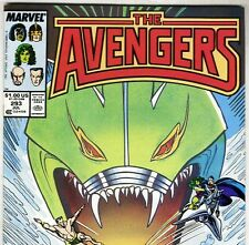 The AVENGERS #293 with Thor & She-Hulk from July 1988 in VF+ con. NS