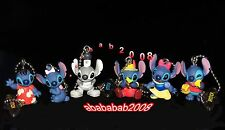 Yujin Disney Lilo & Stitch Halloween keychain Figure Gashapon ( full set 6 Pcs)