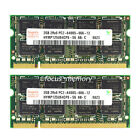 New hynix 4GB 2X2GB PC2-6400 DDR2-800 800Mhz 200pin Sodimm Laptop Memory