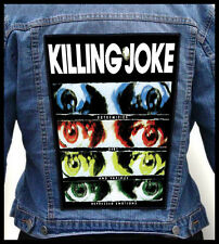 KILLING JOKE - Extremities, Dirt and Various...  --- Giant Backpatch Back Patch