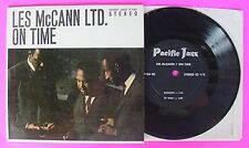 "LES McCANN LTD.- ON TIME-PAC.JAZZ- 7"" STEREO JUKEBOX EP"