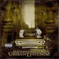 DAMAGED ARTWORK CD Skatterman & Snug Brim: Urban Legendz