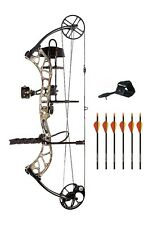 New 2016 Bear Archery Wild RTH 70# LH Bow Package Shadow Series Arrows & Release