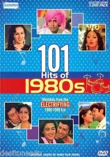101 HITS OF 1980S - BOLLYWOOD MUSIC 3 DVD SET - FREE POST