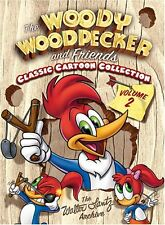 The Woody Woodpecker And Friends Classic Cartoon Collection Vol. 2 . 3 DVD . NEU