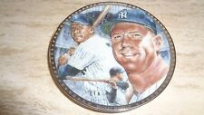 "1991 Baseball Mini Plate - ""Golden Years"" - Mickey Mantle - New York Yankees"