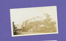 Grand Trunk Western 0-8-0 Locomotive #8396 - Vtg B&W Railroad Photo