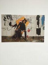 JEAN-MICHEL BASQUIAT,private view invitation card, Gagosian gallery 2013