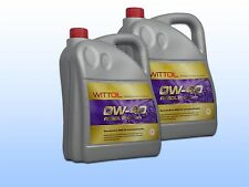 2 X 5 Liter WITTOIL RESOL PREMIUM 0W-40 Motorenöl made in Germany VW 503 01