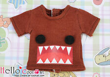 ☆╮Cool Cat╭☆【PR-73】Blythe Pullip Printing Tee(Monster)# Chocolate