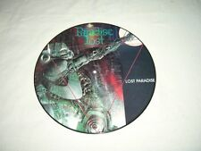 PARADISE LOST --- very rare old 1990 LOST PARADISE Picture Disc LP!!! Sentenced