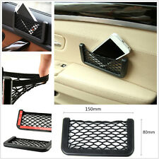 Universal Auto Car Storage Net Resilient String Bag Phone Coins Pocket Organizer