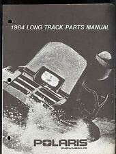 1984 POLARIS LONG TRACK SNOWMOBILE PARTS MANUAL