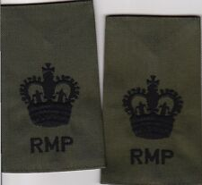 ROYAL MILITARY POLICE WOII COMBAT rank epaulettes