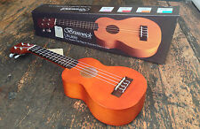 Left Handed Brunswick Natural Soprano Ukulele Fitted With Aquila Strings £49.99