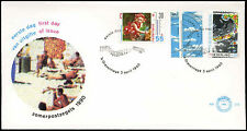 Netherlands 1990 The Weather FDC First Day Cover #C27960