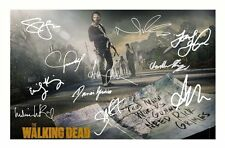 THE WALKING DEAD AUTOGRAPHED SIGNED A4 PP POSTER PHOTO