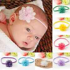 Lovely 10PCS Kids Baby Girls Toddlers Infant Flower Headband Hair Band Headwear