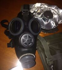 Swiss SM-67 Gas Mask/Respirator with Swedish 381 NBC Filter (exp 2022) & Bag