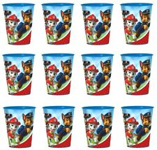 PAW PATROL REUSABLE KEEPSAKE CUPS (12) ~ Birthday Party Supplies Plastic Favors