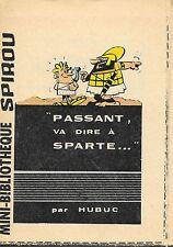 Mini-Récit Spirou N°255 - Passant, va dire à Sparte... (monté) - ABE