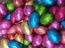 500gm Chocolate Foil Wrapped Mini Eggs Choc Easter Eggs