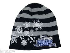 NEW ERA 2012 NCAA PINSTRIPE BOWL WOMENS SNOWDRIFT KNIT WINTER HAT/BEANIE/TOQUE