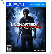 PS4 Uncharted 4: A Thief's End ENGLISH / 秘境探險 4: 盜賊末路 中英文版 SONY Action Games SCE