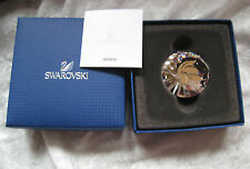 "Swarovski  Figurine Ret. SCS  Members Only Clear Plaque "" Lion"" Paperweight MIB"