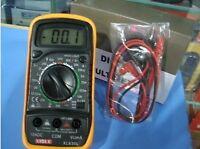 Handheld Digital Multimeter AC DC Voltage Current Resistance HFE Tester XL830L(A
