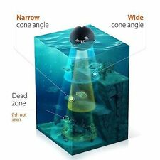 PORTABLE Depth FISH FINDER for Smartphones Sonar Bluetooth Wireless Includes USB