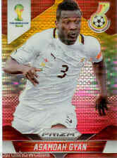 2014 World Cup Prizm Yellow Red Parallel No.98 A.GYAN (GHANA)