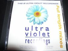 This Is Ultra Violet Recording CD Mixes La Monde Urban Blues Basscamp Union Stat