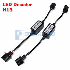 2x EMC H13 Headlight Canbus LED Decoder Error Free Kit Anti-Flicker Resistors