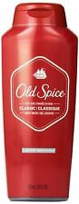 Old Spice Classic Scent Men's Body Wash 18 Fl Oz (Pack of 6), New, Free Shipping