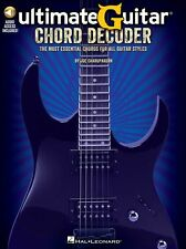 Ultimate Guitar Chord Decoder LEARN Most Essential Chords All Styles Music Book