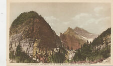 C180  1940 POSTCARD  THE BEEHIVE AT LAKE AGNES CANADA  BC