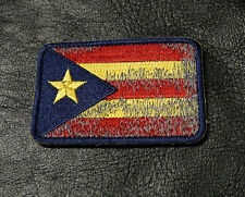 PUERTO RICO FLAG TACTICAL MORALE 3 INCH  HOOK PATCH